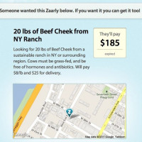 Building a Marketplace: Zaarly Helps Source 20 lbs of Beef Cheek