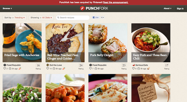 Punchfork Screenshot