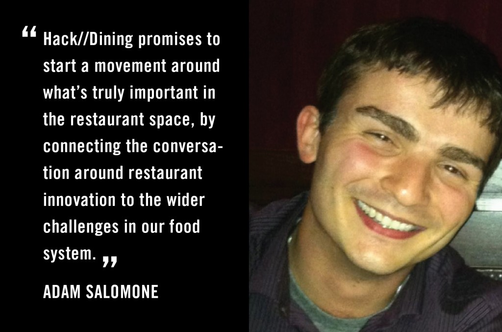 Adam Salomone - Hacking Dining