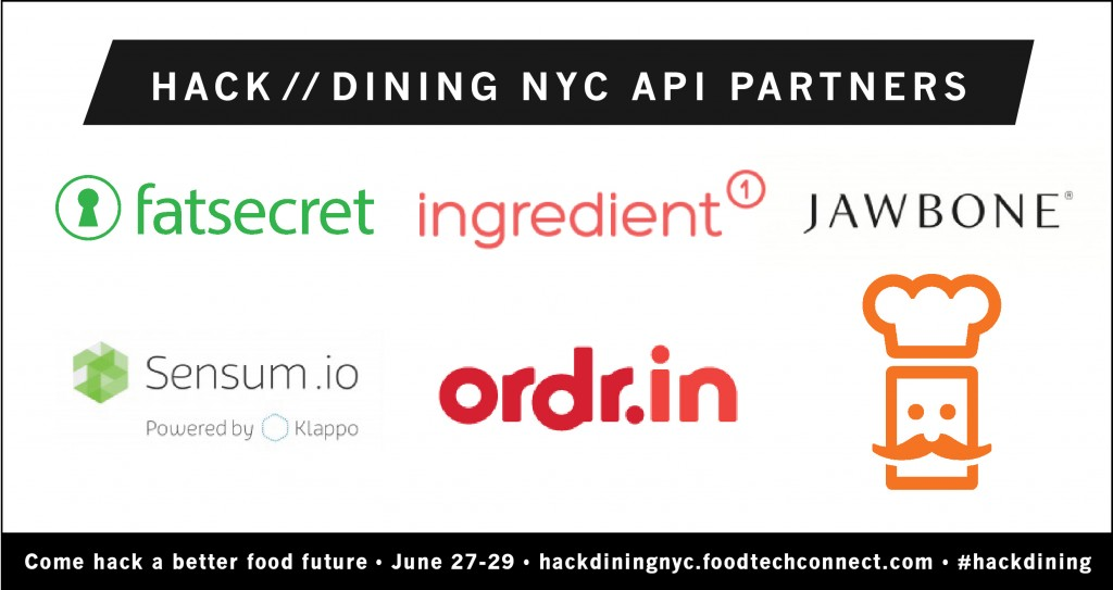 Hack//Dining NYC API Partners