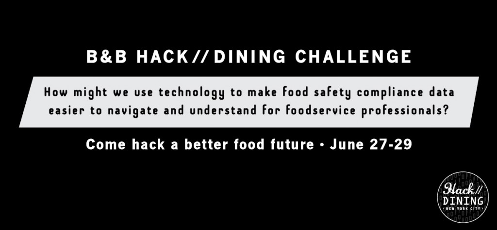 Batali & Bastianich Hospitality Group -Hack//Dining Food Safety Challenge