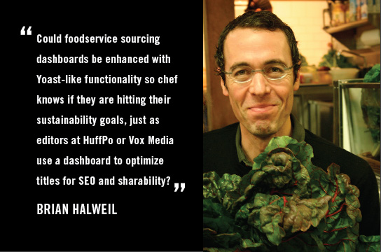 Brian Halweil on 3 Ways We Should Hack Dining to Improve Sustainability