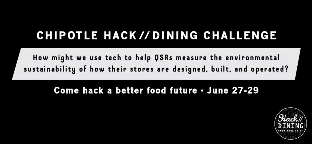Chipotle's Hack//Dining Sustainable Design & Operations Challenge