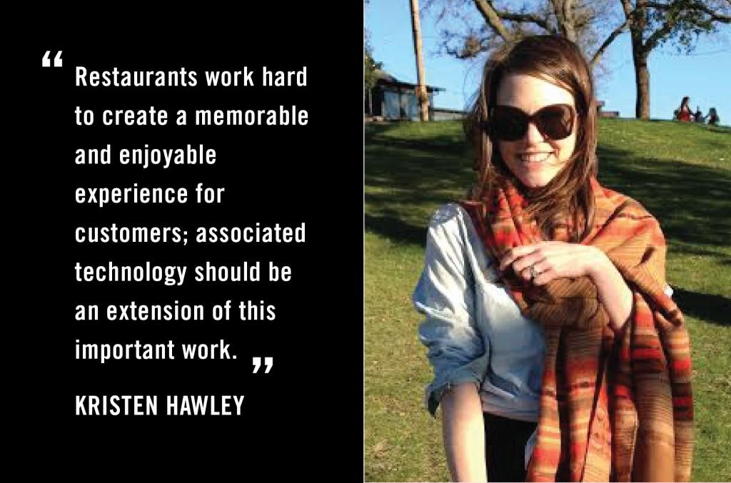 Kristen Hawley - Hacking Dining