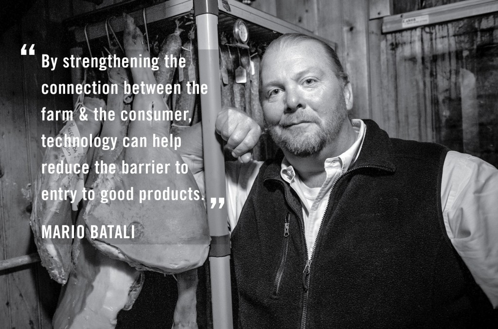 Mario Batali on hacking a better future for dining