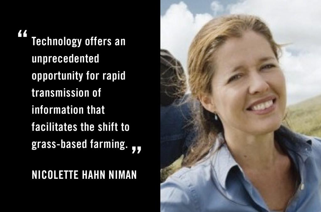 Nicolette Hahn Niman-Hacking Dining