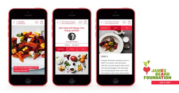 James Beard Foundation Cooking App