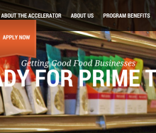 Sustainable Food Startup Accelerator