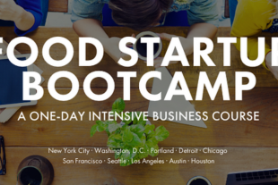 food startup bootcamp