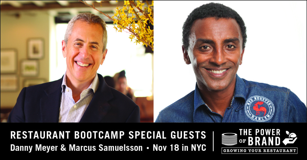 restaurant branding bootcamp special guests