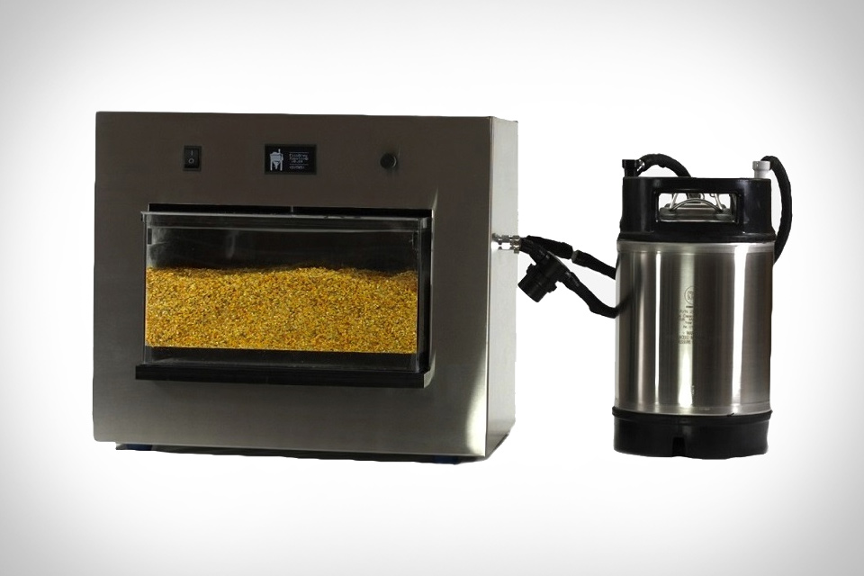 at-home beer brewing mahcine