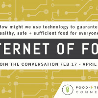 Announcing Internet of Food Editorial Series with Seeds&Chips