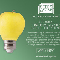 Apply for Free Travel & Exhibition at Seeds&Chips Conference in Milan