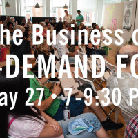 Announcing The Business of On-demand Food Startups Meetup