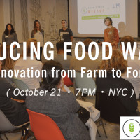 Announcing Food Waste Meetup with Batali & Bastianich, Mintscraps + Re-nuble