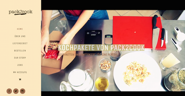 Pack2cook German Food Startup