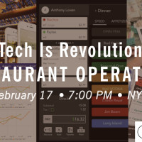 Announcing Restaurant Tech Meetup With ChowNow, SALIDO & Venga