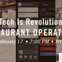 Announcing Restaurant Tech Meetup With ChowNow, SALIDO & Venga