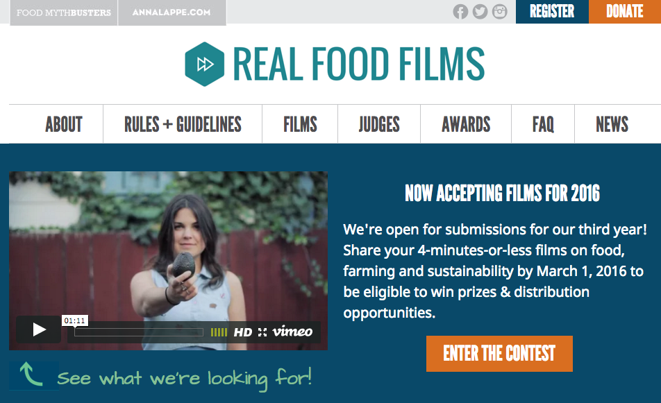 Good Food Awards Submissions