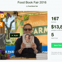 Help Kickstart Food Book Fair 2016
