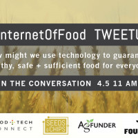 Join Second Annual #InternetOfFood Tweetup April 5