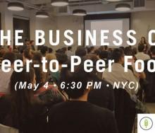 peer-to-peer food tech meetup