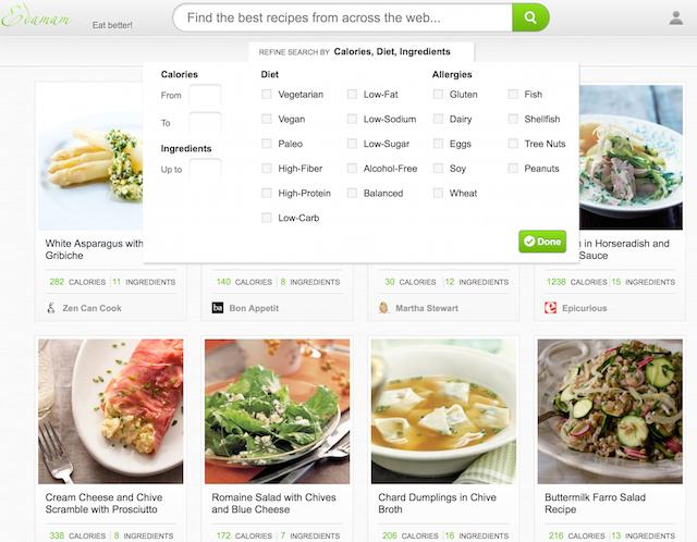 Edamam Personalized Nutrition Information Recipes