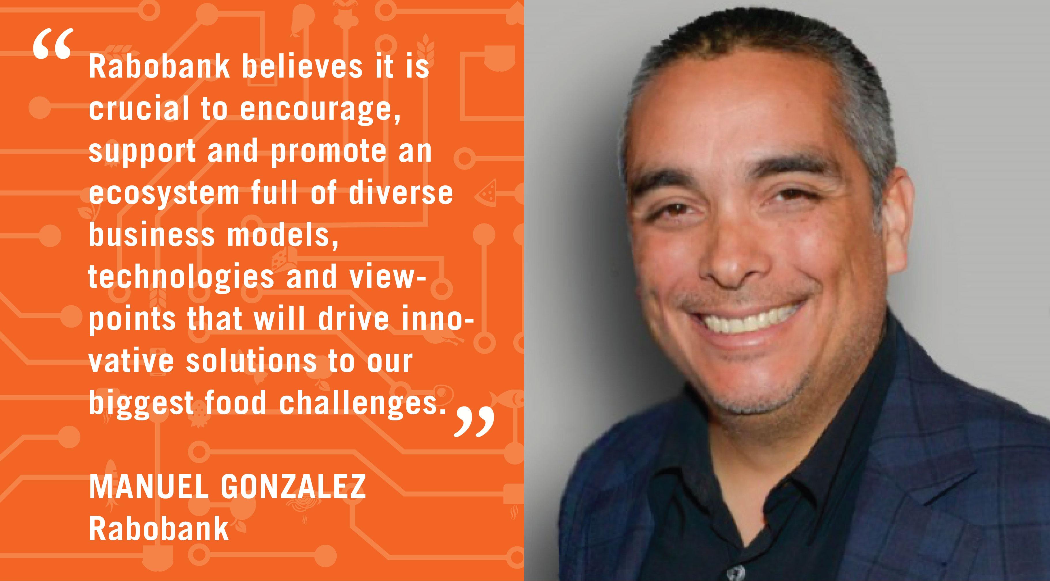 Manuel Gonzalez Supporting Food & Agriculture Entrepreneurs