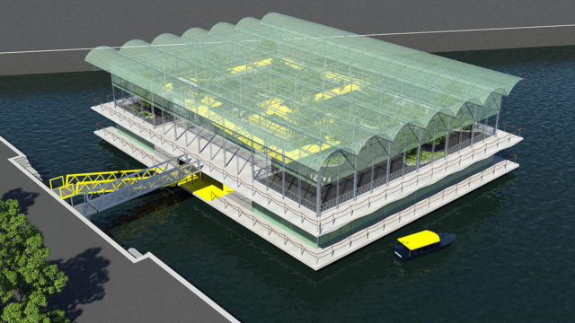 Rotterdam Floating Dairy Farm