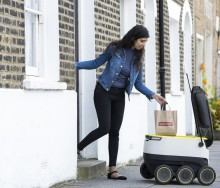 Just Eat Food Delivery Self-driving Robots