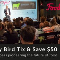 Early Bird Tix On Sale For FoodBytes! San Francisco