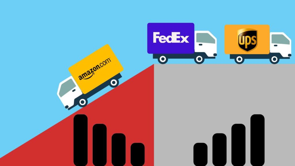 Food+Tech Connect Amazon Takes On Fedex and UPS, Trump
