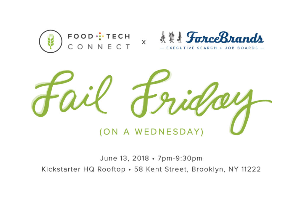 Food+Tech Connect Fail Friday (on a Wednesday): Food