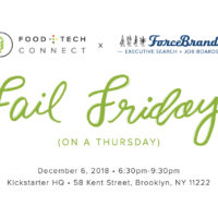 Join us at Fail Friday (on a Thursday) December 6th!