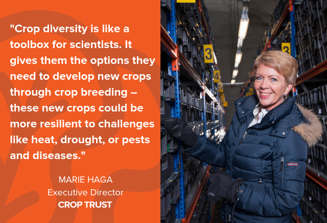 How Crop Trust is Safeguarding The World's Crops & Plants
