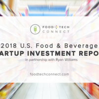 2018 U.S. Food & Beverage Startup Investment Report
